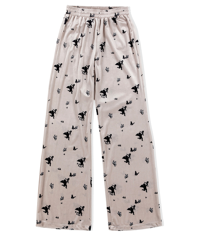 CUPID ANGEL VELVET EASY PANTS [IVORY]