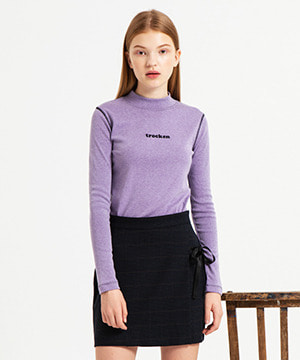 TROCKEN STITCH SLIM TOP [PURPLE]