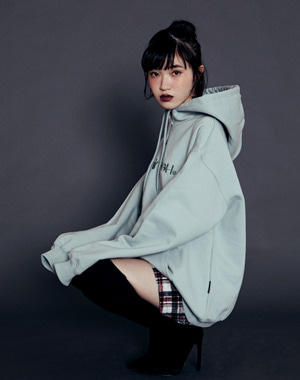 2019 F/W slogan - LOCAL PUNK GIRLS additional image shot -