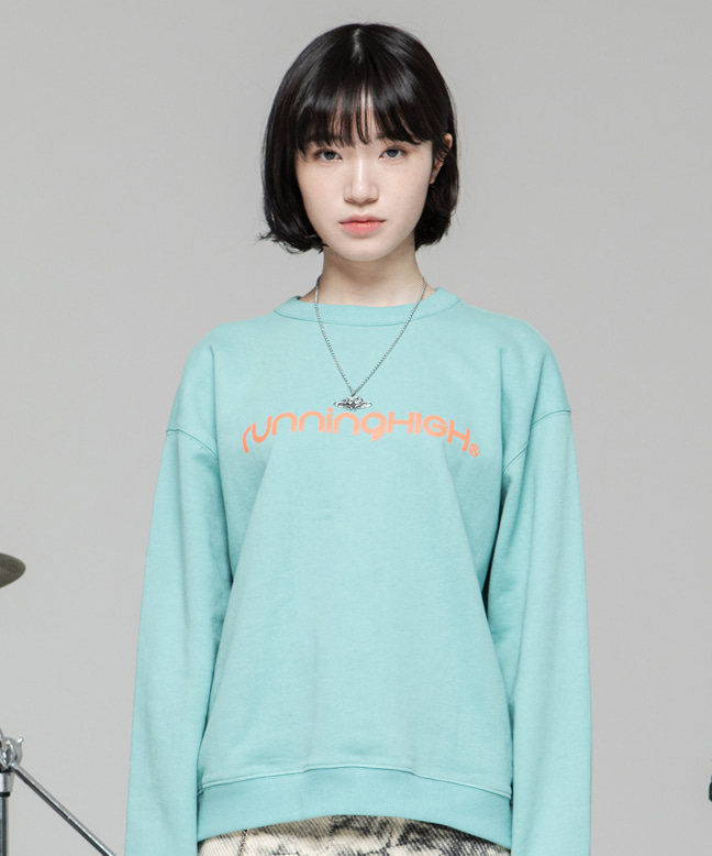 BASIC LOGO SWEAT SHIRT [MINT]