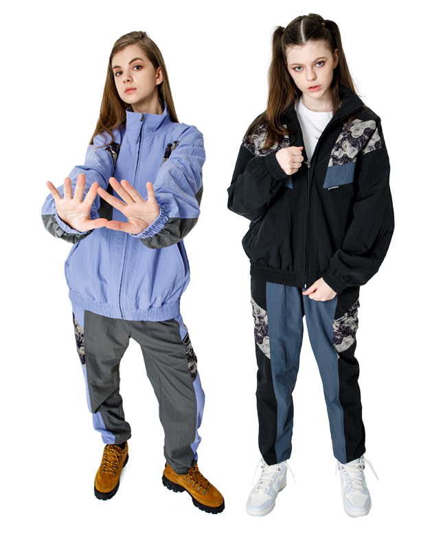 [SET] RETRO TRACK JACKET + PANTS SET [2 COLORS]