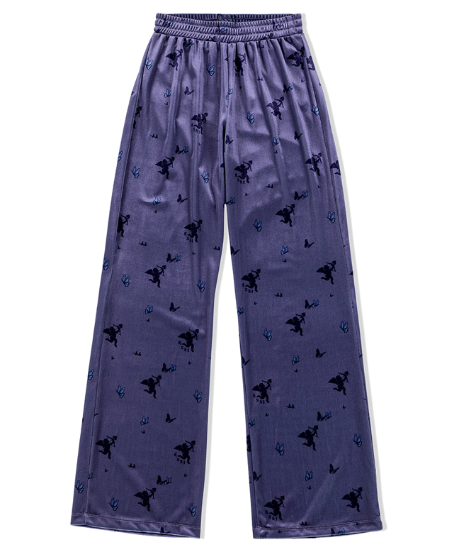 CUPID ANGEL VELVET EASY PANTS [PURPLE]