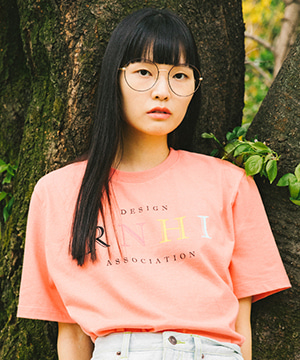 RNHI CLASSIC PRINTING TEE [CORAL]