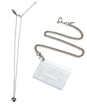 [세트/사은품 증정] PVC CARD HOLDER + CHAIN + SURGICAL NECKLACE