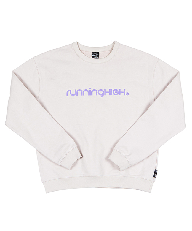 BASIC LOGO SWEAT SHIRT [OFF WHITE]