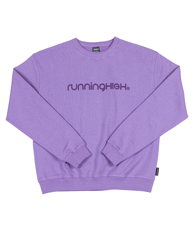 BASIC LOGO SWEAT SHIRT [LIGHT PURPLE]