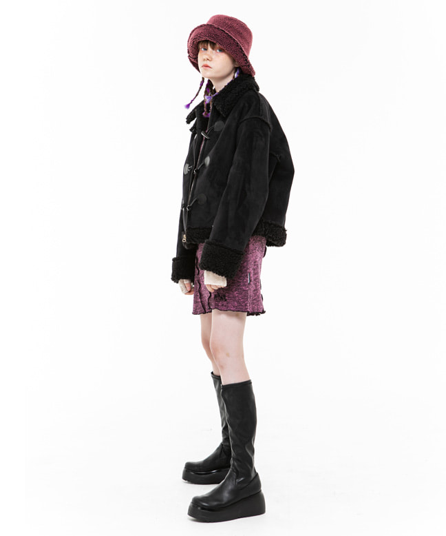 TOGGLE POINT MUSTANG JACKET [BLACK]